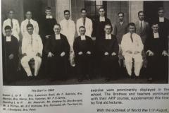 1941 - Teaching Staff