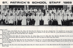 1969 - Teaching Staff