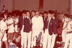 Teachers & Staff 1981 - 1990