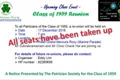 Class of 1959 reunion
