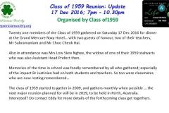 Classof1959 Update