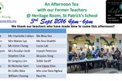 2016 - Teachers' Day Reunion