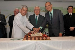 80thAnniversarySt Patrick's School celebrated its 80th anniversary on Friday evening at the Marina Mandarin Ballroom with guest-of-honour President Tony Tan (centre), a former student of the school.