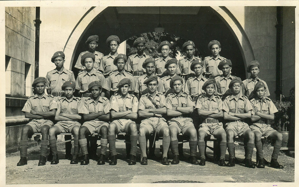 1952---Cadets-led-by-Mr-Campbell021