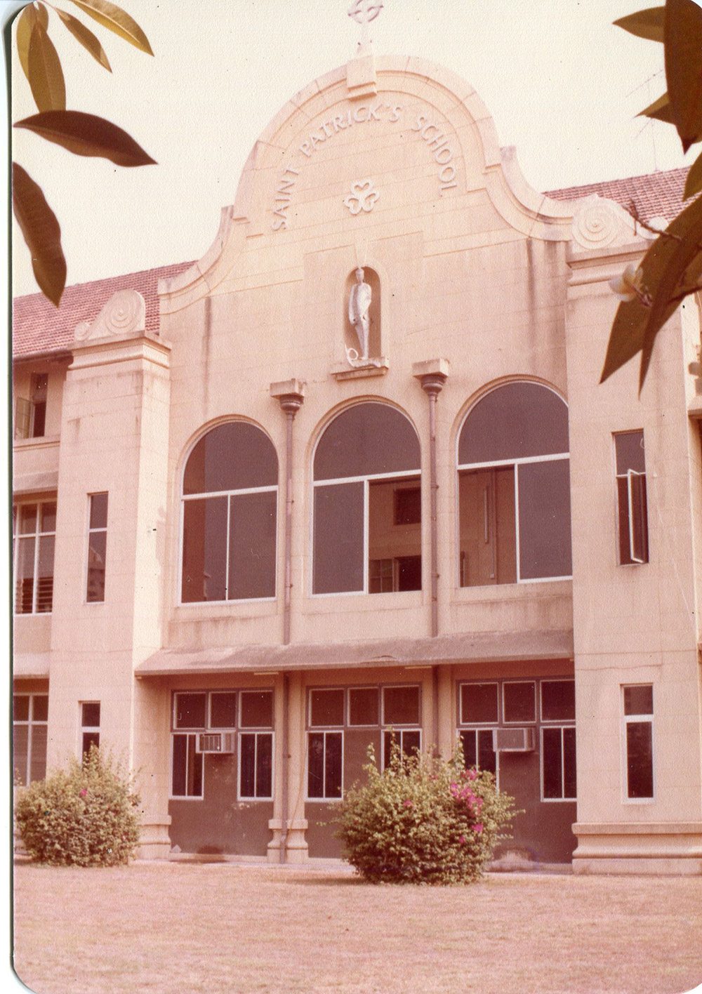 1980s-Our-School Facing the Old sea front now Marine Parade Road