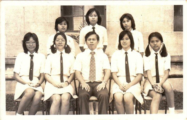 Girls Badminton Team 1974 -1975