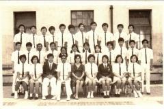 class of PreU2 S2 1975