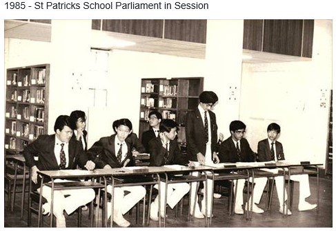 1985 - Student Parliment